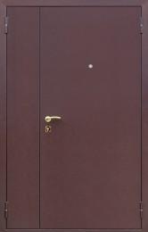 Стальная дверь «Двухстворчатая»