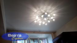 Матовый натяжной потолок ПВХ